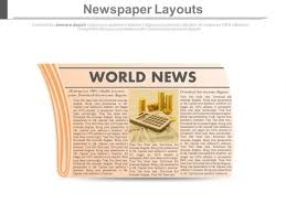 Newspaper Powerpoint Template Interesting Read News Paper For World News Powerpoint Slides PowerPoint Templates