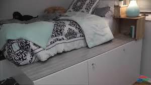 (DIY Vid) Ikea Hack Bed With Ample Storage.