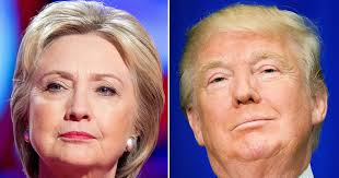 Image result for donald and hillary clinton