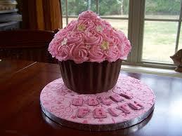 Cupcake Birthday Cakes For Girls Girls Flower Cupcake Cake