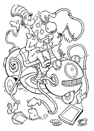 Small Picture Free Dr Seuss Coloring Page Coloring Home