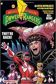 mighty morphin power rangers 1 rita repulsa s atude adjustment stefan petrucha ph marcondes 9781597076968 amazon books