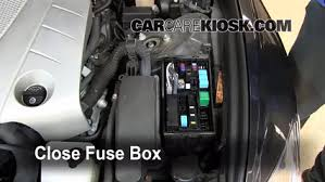 replace a fuse 2006 2011 lexus gs350 2007 lexus gs350 3 5l v6 6 replace cover secure the cover and test component
