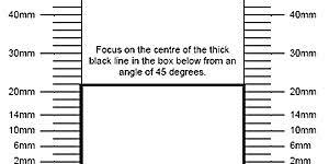 Back Focus Test Chart Focus Test Chart