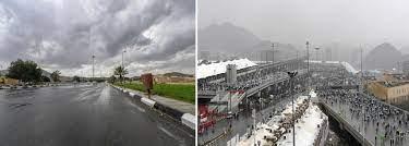 متى يبرد الجو في الرياض