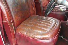 cleaning is very clean but kind to what it is cleaning the aim of repairs is to make them invisible and restoration will colour match the leather or vinyl