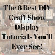 Craft Show Display Stands The 100 Best DIY Craft Show Display Tutorials You'll Ever See 23
