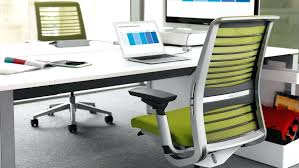 full size of computer desk chair no wheels think ergonomic adjule office furniture delectable