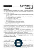 Small Picture CANTILEVER RETAINING WALL DESIGN CALCULATION Chemical Product