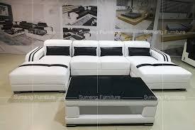 fancy living room furniture. 2017 latest fancy living room furniture double chaise l shape sofa set designs h
