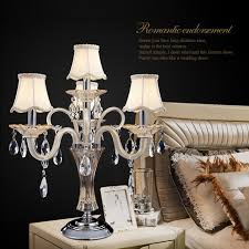 wedding table decoration luxury crystal lamp living room modern lamps candelabra m55