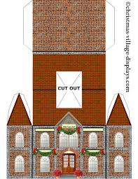 Printable Cardboard House Templates Download Them Or Print