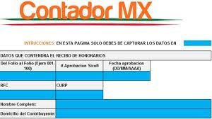 Formato De Recibos Obten Tu Formato Oficial Para Imprimir Recibos Con Codigo De Barras