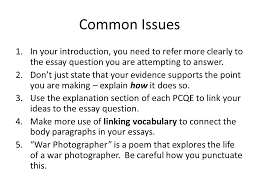 war photographer example essay war photographer example essay