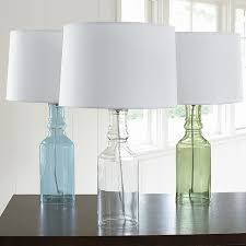 glass base lamp designs