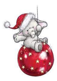 christmas elephant clip art. Brilliant Christmas Adorable Illustration Of A Little Elephant On Red Christmas Ornament To Elephant Clip Art M