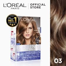 excellence fashion ultra lights hair color 03 ash brown world s no 1