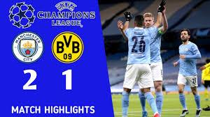 Manchester City vs Dortmund 2-1 | All goals & Extended Highlights