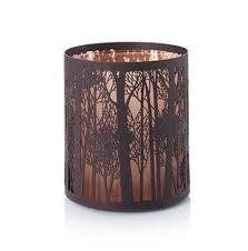yankee candle twilight silhouettes forrest votive candle tea light holder trees