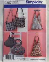 Pre-Quilted Fabric Bags & Tote Simplicity 2551 Sewing by blue510 ... & Simplicity 2357 Handbags and Purses Sewing Pattern Adamdwight.com