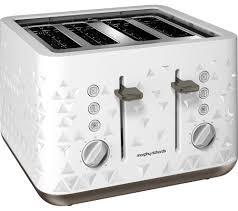 buy morphy richards prism  slice toaster – white  free