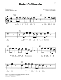 Print and download hotel california sheet music by the eagles in b minor. Hotel California Sheet Music Eagles E Z Play Today