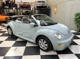 Light Blue Beetle For Sale 2005 Volkswagen Beetle For Sale Classiccars Com Cc 1200026