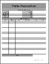 free requisition forms from formville