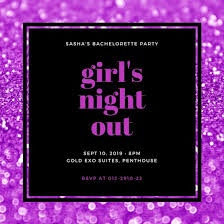 bachelorette party invitations free template customize 116 bachelorette party invitation templates online canva
