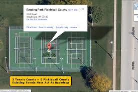 pickleball court size growth pickleball wisconsin