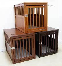 furniture pet crate. Dog House Wood Crate Furniture Wooden Pet End Table Trellischicago Collars Bedside Made From Custom
