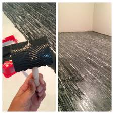 Wood Looking Paint Faux Wood Painted Floors Primer Floors First Them Use A Roller