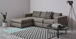 Modular Living Room Furniture Uk Mortimer 4 Seat Modular Sofa Chalk Grey Madecom