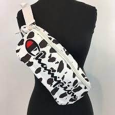 Champion <b>Fanny Pack Waist Bag Cow</b> Animal Print Sling Bag White ...