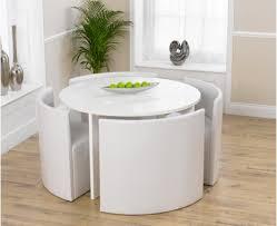 White Dining Table Set for Elegance Home Dinner