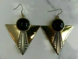 costume jewellery gold plate art deco