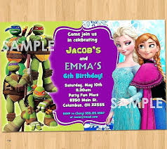 free invitation cards fresh nice double kids birthday party invitations this spiderman card template awesome