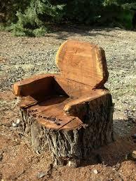 log furniture ideas. big log chair logfurniture2 furniture ideas u
