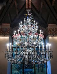 custom made murano glass chandelier by gianni seguso