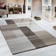 geometric rug beige grey cream modern carpet living room thick soft large mats
