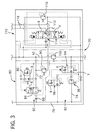 patent us6293099 hydraulic circuit for forklift google patents patent drawing