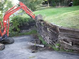10 best railroad ties retaining wall ideas railroad ties retaining wall cost garden design