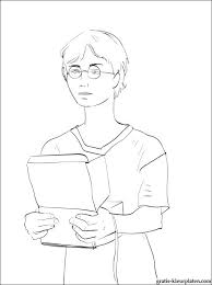 Harry Potter Denken Over Iets Gratis Kleurplaten