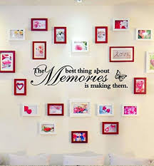 wm mw family wall stickers removable art vinyl the best thing about memories is making them es mural decal home wall decor wantitall