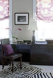 purple office decor. suzie elizabeth martin design purple and brown chic office with tan walls paint decor w
