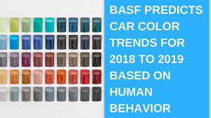 Basf Predicts Car Color Trends For 2018 To 2019 Based On Human Behavior