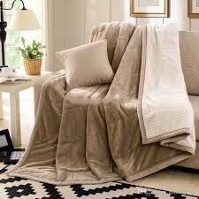 king size plush blanket. Modren King King Size Fleece Blanket On The Bed  Sofa Thick Winter Blankets Super Soft  Warm Plush Flannel KingQueen Online With 929Piece Milingstoreu0027s  Throughout DHgatecom