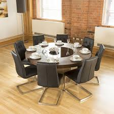 dining table set with lazy susan. luxury large round elm dining table lazy susan + 8 chairs 4163 black set with