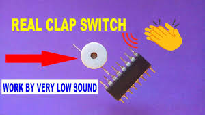 Clap Control Light Switch Make A Real Clap Switch Very Sensitive Clap Switch For Light And Fan Clap Control Switch Hindi