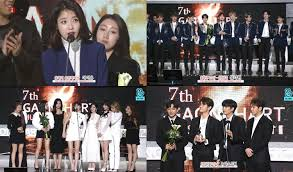 Gaon Chart Music Awards Live Stream The 7th Gaon Chart Music Awards Final Winners Results